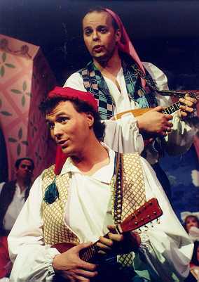 Brian in The Gondoliers 1992 — 'Giuseppe', with Ronald S. Herman — 'Marco'
