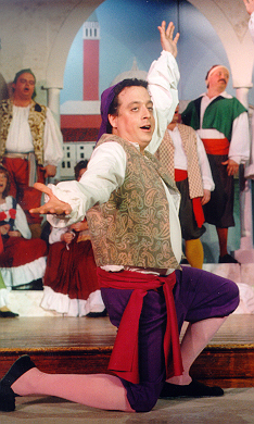 Stephen in The Gondoliers 1998