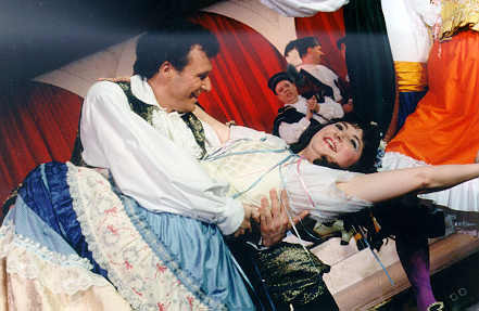 Ron in The Gondoliers 1998 — 'Marco', with Kathy Perconti — 'Gianetta'