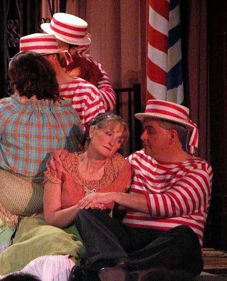 David in The Gondoliers 2005, with Laurie Brassie