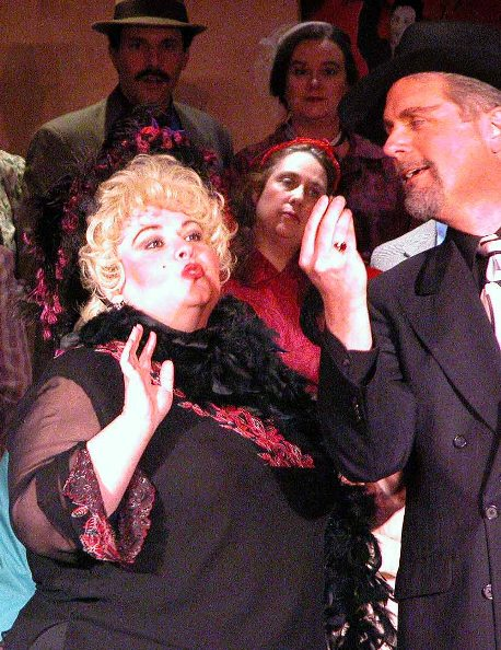 Patti in The Gondoliers 2005 — 'Inez', with Marty Nott — 'Don Alhambra'