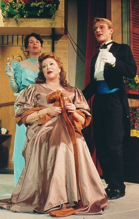 Christine in The Grand Duke 1992, with Amanda Lobaugh and Gordon H. Bastian