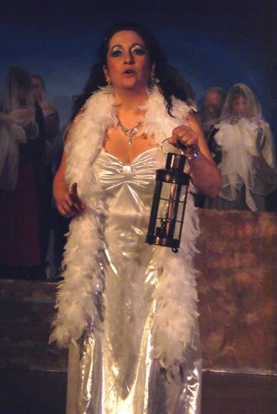 Carla in A Gilbert & Sullivan Christmas Carol 2008 — 'The Ghost of Christmas Past'