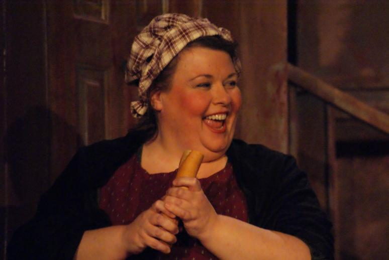 Patti in A Gilbert & Sullivan Christmas Carol 2008 — 'Aunt Esther'