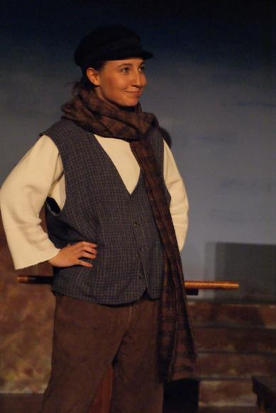 Nicole in A Gilbert & Sullivan Christmas Carol 2008 — 'Cheapside Jackie'