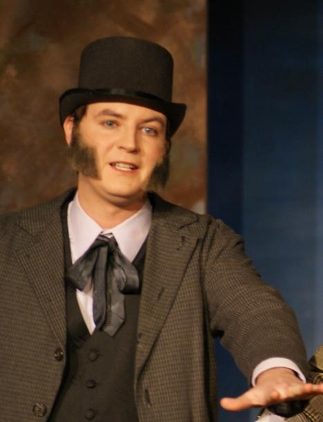Ben in A Gilbert & Sullivan Christmas Carol 2008 — 'Young Marley'