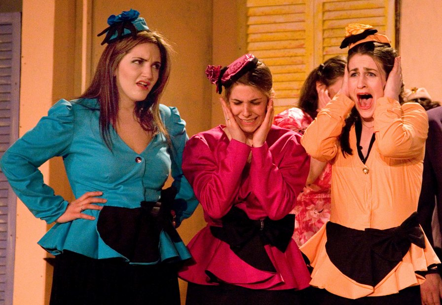 Pamela in Hot Mikado 2007 — 'Peep-Bo', with Rachel Pasternak — 'Pitti-Sing' and Megan Rast — 'Yum-Yum'