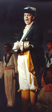 Brian in HMS Pinafore 1991 — 'Sir Joseph'