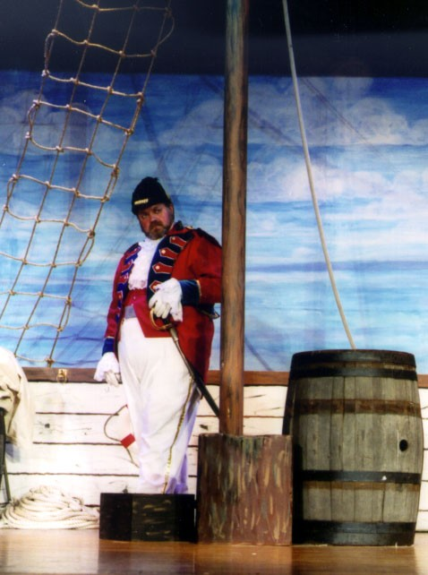 Joel in HMS Pinafore 2002 — 'Captain Corcoran'