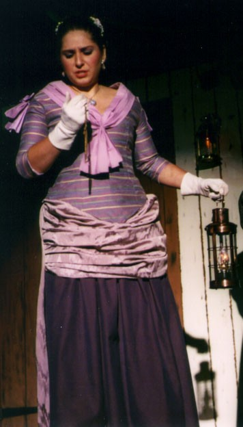 Holly in HMS Pinafore 2002 — 'Josephine'