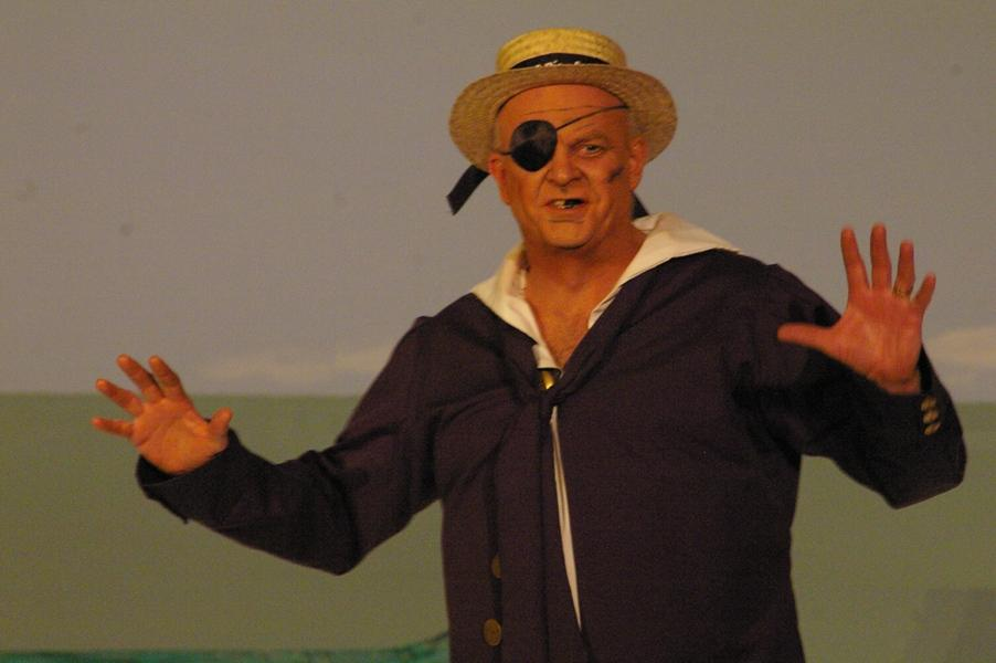 Sandy in HMS Pinafore 2008 — 'Dick Deadeye'