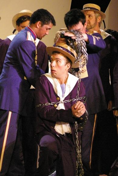 Greg in HMS Pinafore 2008 — 'Ralph Rackstraw'