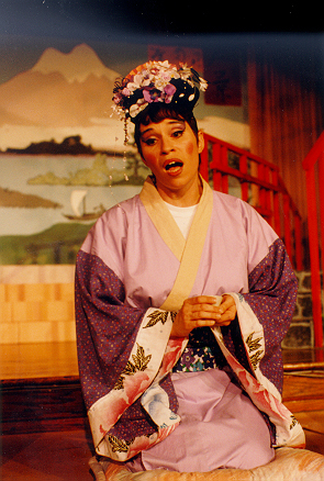 Amanda in The Mikado 1995 — 'Pitti-Sing'