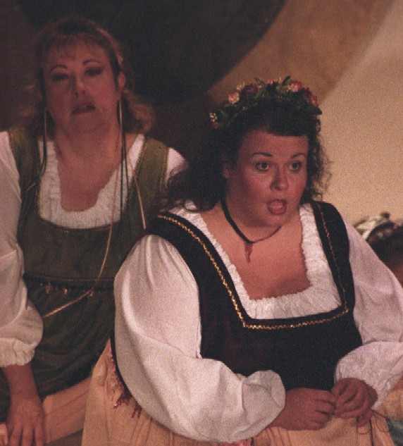 Patti in Patience 2003 — 'Lady Saphir', with Kathy Moore