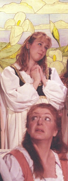 Amanda in Patience 2003, with Christina Arden