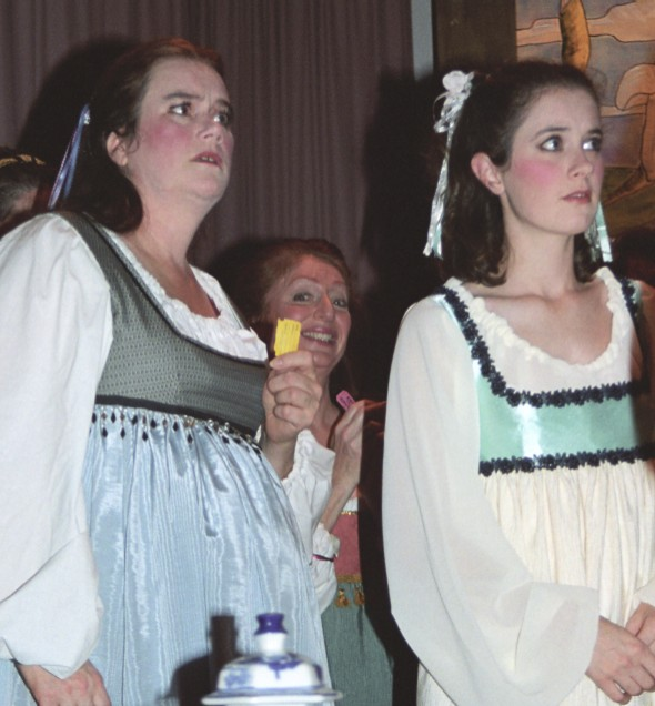 Rebekah in Patience 2003, with Penny Fram, and Christina Arden