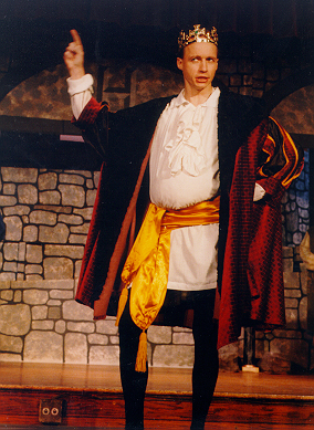 Ted in Princess Ida 1997 — 'King Hildebrand'