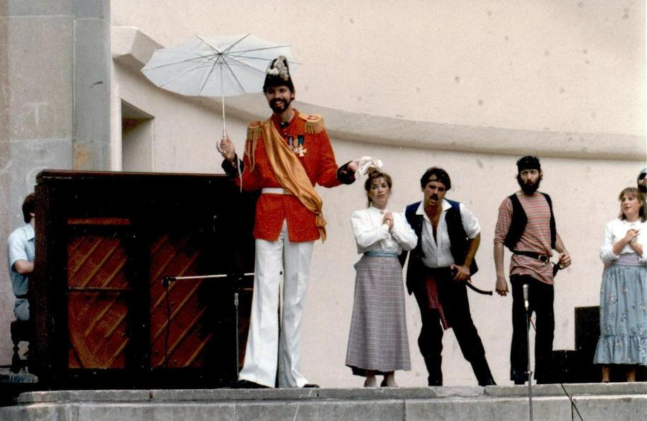 Brian in The Pirates of Penzance 1982 — 'The Major-General'