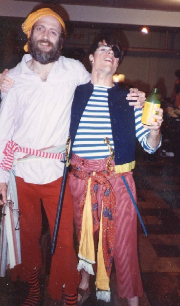 The Pirates of Penzance 1988, Terry Benedic with Steve Ellis