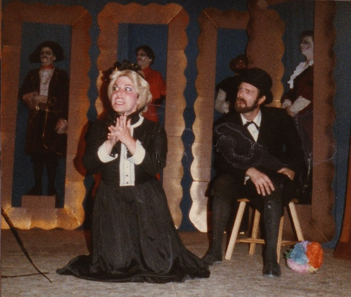 Kimberly in Ruddigore 1983 — 'Mad Margaret', with Chris Brown — 'Sir Despard'