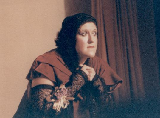Ellen in Ruddigore 1987 — 'Mad Margaret'