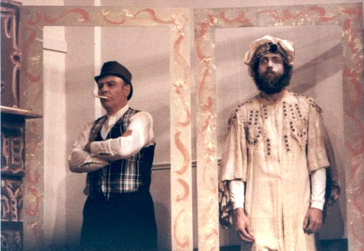 Ruddigore 1987, with Mike Bellavia — 'Sir Roderick' (Terry Benedict)