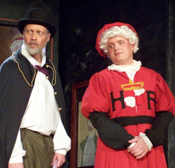 Ken in Ruddigore 2006, with Terry Benedict