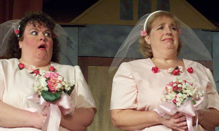 Anne in Ruddigore 2006, with Patricia A. Montrois