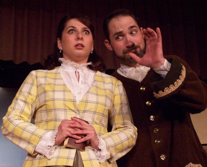 Holly in Ruddigore 2006 — 'Rose Maybud', with Robert D. Gorski — 'Robin Oakapple'