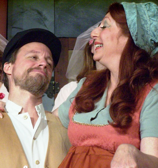 Ruddigore 2006, Christina Arden with Ted Benedict