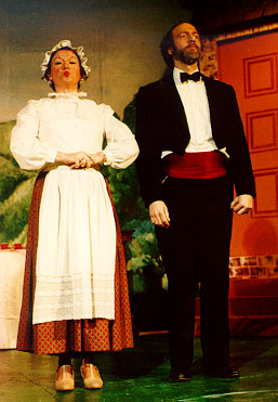 The Sorcerer 1993, Terry Benedict with Lynette Blake