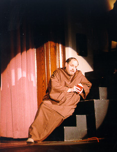 Joel in The Sorcerer 1999 — 'Friar Daly'