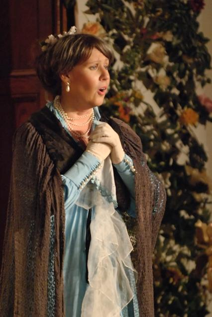 Karen in The Sorcerer 2007 — 'Lady Sangazure'