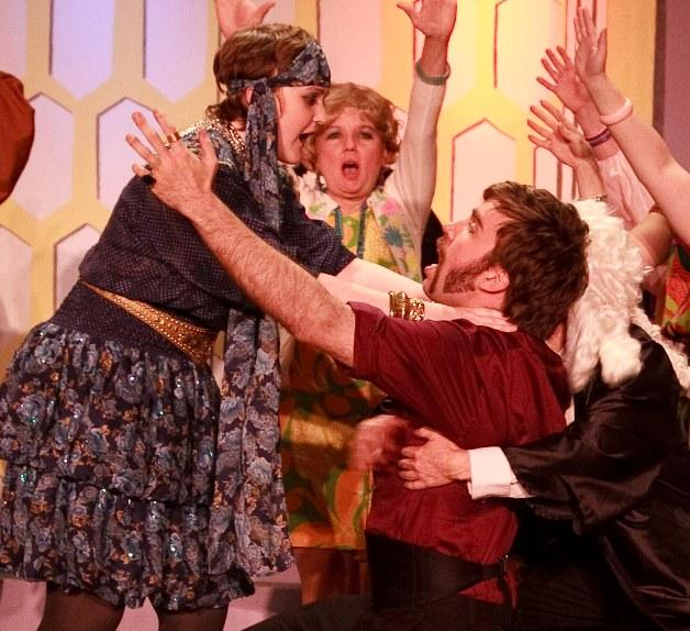 Laura in Trial By Judy 2009 — 'Mabel', with Melinda Laurin and Greg Wright — 'Terrence'