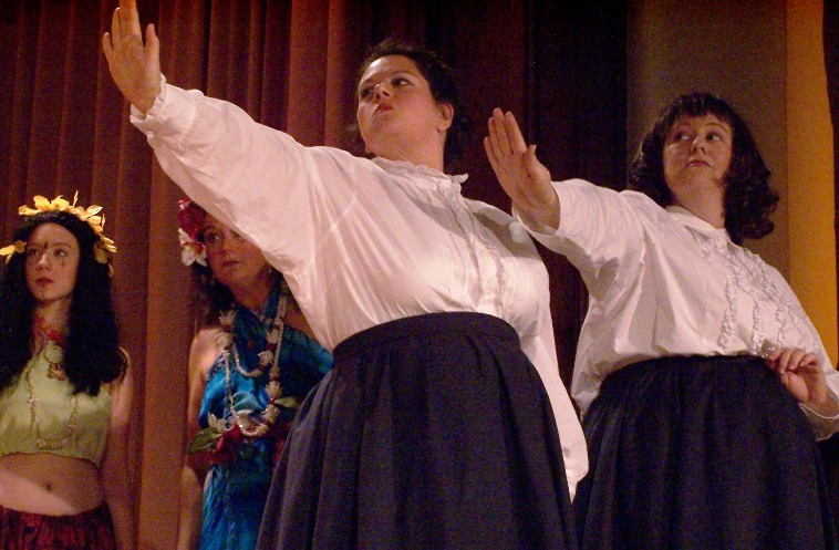 Tania in Utopia, Limited 2005 — 'Nekaya', with Stefanie Brown, Penny Fram, and Paula Gullo — 'Kalyba'