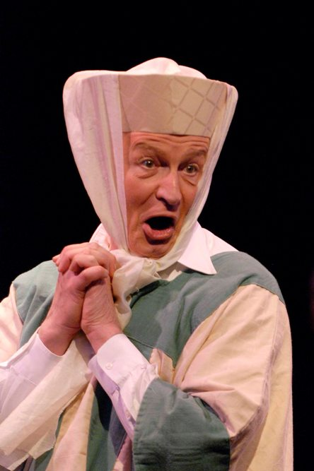 Wayne in Very Truly Yours, Gilbert & Sullivan 2008