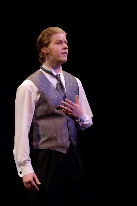 Ethan in Very Truly Yours, Gilbert & Sullivan 2008