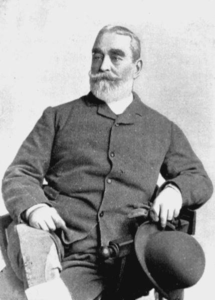 Photo of F. C. Burnand