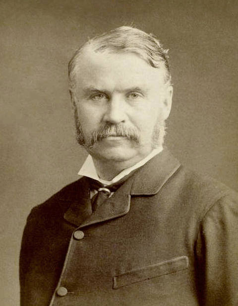 Photo of W. S. Gilbert