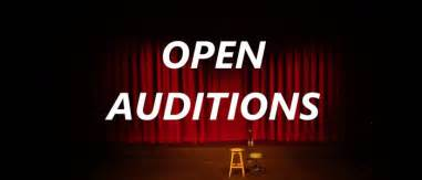 Just around the corner...auditions!