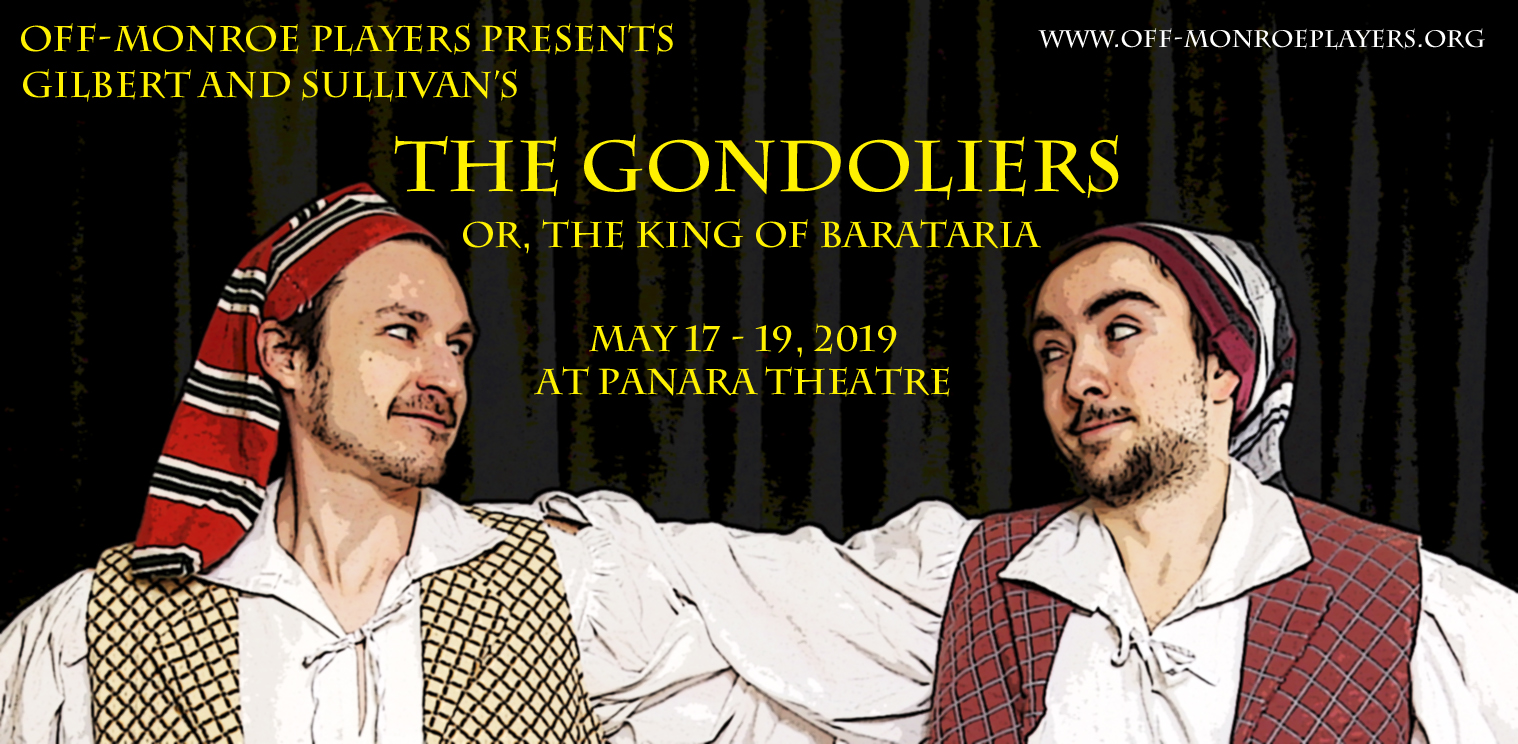 Gondoliers at The Robert F. Panara Theatre