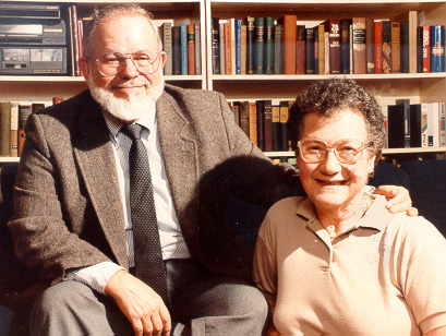 Esther and her husband Rex Vail
